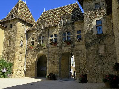 medieval city Abbaye de Saint Antoine